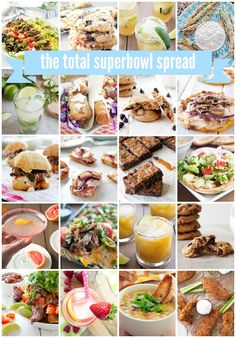The Total Superbowl Spread | A Happy Food Dance
