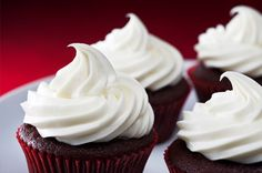 Red Velvet Cupcakes…perfect for a Valentine's Day treat!