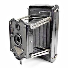 Rajar No 6 Vintage 1920s Bakelite Art Deco Antique Folding Film Camera