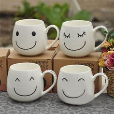hmmm..porcelaine pen and white mugs? http://idoproyect.com/rotuladores-ceramica/
