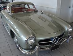 1955 Mercedes Benz SL Gullwing. Visit WBA Store on Twitter for more information.