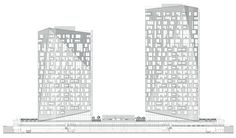 MODERN TOWERS ELEVATION - Google Search
