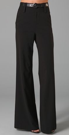 Alice + Olivia High Waist Pants