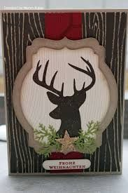 This would make a great masculine card for any time of the year. Just leave off the star and leaves and put your own phrase. Remembering Christmas Stampin' Up!