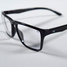 b1be98e1b37 adidas Originals Spectacles Wayfarer Reading Style Eyewear Black Clear  Glasses Clear Glasses Fashion
