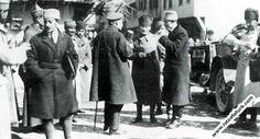 1922.03.30-Afyon Çay'da Başkomutan Rusya Elçisi Aralof, Azerbeycan Elçisi İbrahim Abilof'la birlikte.(30 Mart 1922).