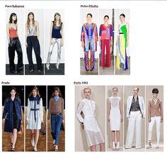 Preview Spring Summer 2015 apparel, shoes and make up by Paco Rabanne, Peter Pilotto, Prada, Ports 1961 ----- pre-collezione moda trend Primavera Estate 2015 abbigliamento scarpe accessori e trucco