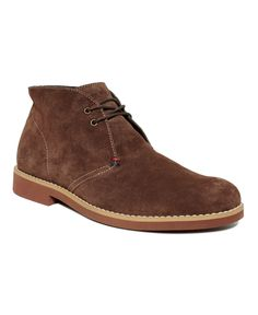 Tommy Hilfiger Shoes, Berch Suede Chukka Boot - Mens Boots - Macy's: 80.00