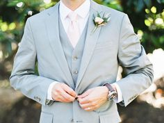 What a Groom Should Wear to the Engagement Party (and Beyond) | Photo by: Emily March Photography | TheKnot.com