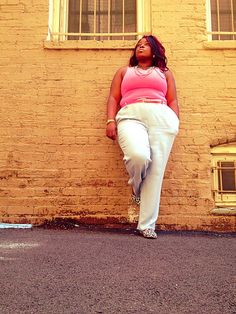 Trousers Thrifted Tank Top and belt @hm Loafers @lordntaylor