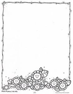 Bordes DJ Inkers_Carson Dellosa_1_Blanco y negro - Espe 2.2 - Álbumes web de Picasa Page Borders, Borders And Frames, Coloring Books, Coloring Pages, Dj Inkers, Quiet Book Templates, Card Templates, Birthday Charts, Xmax