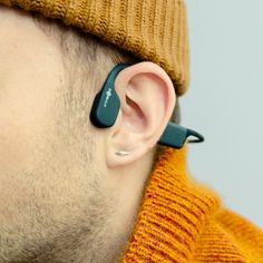 Bone Conduction Headphones Are Great for Workouts, But Not Much Else   GQ Best Workout Headphones, Open Back Headphones, Baby Registry Items, Bon Iver, Wearable Device, Outdoor Workouts, Hearing Aids, Noise Cancelling, Technology