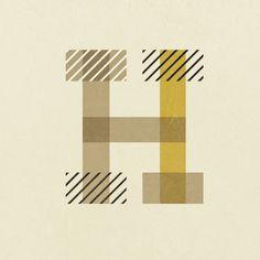 H patterns | via letras ~ Cityhaüs Design