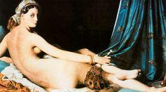 La Gran Odalisca. Ingres. Neoclasicismo. S. XIX.