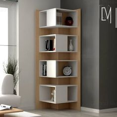 Corner Wall Shelves Ideas For Modern Home Interior Design 2019