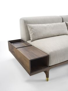 Argo sofa by PORADA in collaboration with Staffan Tollgard. A collection inspired by the #Scandinavian #archipelago. | #italian #scandinavian design #furniture #sofa #home inspiration #interiors #armrest