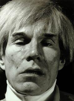 Gottfried Helnwein, Andy Warhol, New York, 1983. Privatsammlung © VBK, Wien, 2013