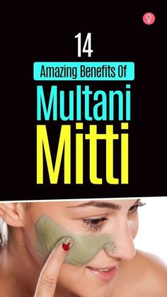 14 Amazing Benefits Of Multani Mitti For Face, Skin, And Health #beauty #tips #skincare #beautytips #tips