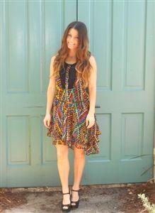 Lauren Nicole has our own art deco dress!