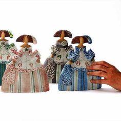 comprar meninas de ceramica - Buscar con Google Ceramic Figures, Ceramic Art, Clay Dolls, Art Dolls, Arte Country, Clay Figurine, Paper Clay, Cold Porcelain, Handicraft