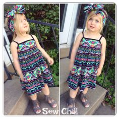 """payton"" brynlee style dress by Sew Chill - Spring 2015  www.sewchill.com"