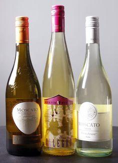 Castello del Poggio (left), Martin Weyrich Moscato Allegro and Moscato Primo Amore are three of the most popular Moscato wines in Tulsa.  CORY YOUNG/Tulsa World