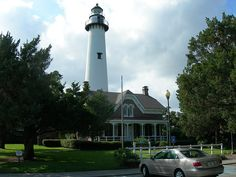 St Simons Island Lighthouse, built in 1872 - Georgia.