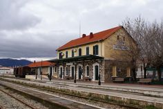 Komotini, Greece Going Away, Travel List, Byzantine, Greece, To Go, Mansions, House Styles, Train Stations, Office Buildings