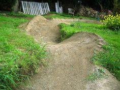 backyard pump track - Google Search