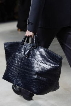 Bottega Veneta Fall/Winter Men's Bag Collection 2013.