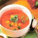 Praktická Kuchařka: Pikantní rajská polévka