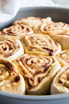 I don't know about you, but love a quick & easy dessert recipe. So when I saw this 30-Minute Healthier Cinnamon Rolls recipe, I was intrigued. Check it out!