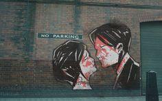 My Chemical Romance street art