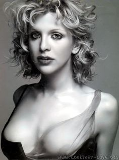 courtney love --- This was from that three month span when she was hanging out with Donatella Versace and actually looked good.