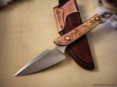 This knife was the start of my Relic series of knives, from 2010.  #sergeknives #usnstagram #knifecommunity