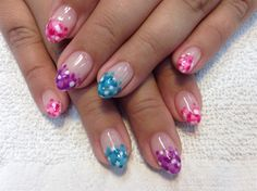 Polka Dot French by creativeedge from Nail Art Gallery