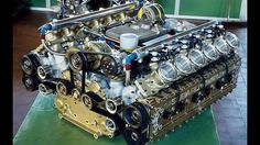 Subaru's Highly Experimental B12 aka 12 Cylinder Boxer Engine.