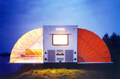 Incredible Camper Folds Out to Triple its Size   Earthly Mission