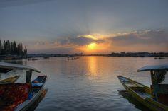 Dal Lake, #Srinagar, #Jammu & #Kashmir, #India by Incredible Indian Places To Visit