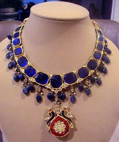 Antique Mughal style necklace.