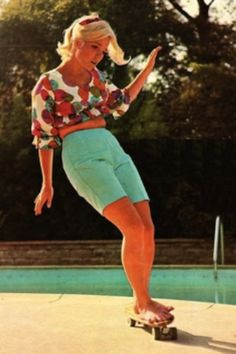 Patti McGee (First woman professional skateboarder) - Imgur