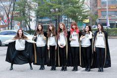 DREAMCATCHER - SuA + Handong + Siyeon + JiU + Yoohyeon + Gahyeon + Dami