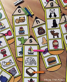 Beginning Sound Pencil Activity Cards