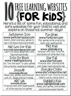 10 Educational Websites