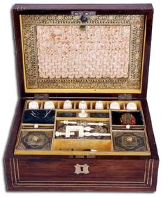 Sewing boxes, via Janeausten.com