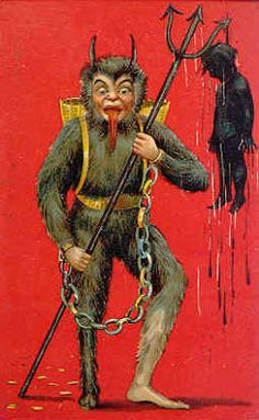 If the Elf on the Shelf isn't working, try a threat from Krampus!  This is the original elf.  The roots and true, hidden meaning of christmas is paganism.  Seek truth.  Jesus is not the reason for the season.