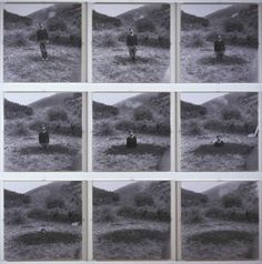 Keith Arnatt, 'Self-Burial (Television Interference Project)' 1969