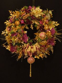 Christmas Joy Decorated Prelit Garland Mantel Burgundy Red Gold ...