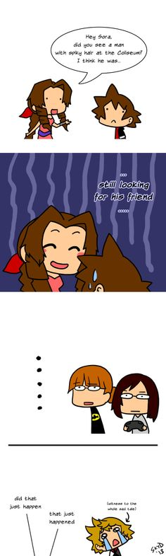 Not even funny. Kingdom Hearts Funny, Kingdom Hearts Games, Kingdom Hearts Fanart, My Heart Hurts, Final Fantasy Vii, Funny Comics, Best Games, Funny Cute, In This World