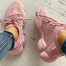 Puimentiua Fashion Women Vulcanized Casual Shoes Mesh Sneakers Ladies Up Stretch Flat Woman Shoes Zapatos Mujer Sport Shoes Tenis Casual, Casual Sneakers, Sneakers Fashion, Casual Shoes, Fashion Shoes, Sneakers Women, Cool Womens Sneakers, Cheap Sneakers, Adidas Shoes Women